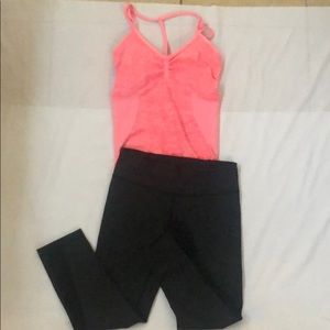 XS workout outfit